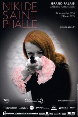 Niki de Saint Phall au Grand Palais.