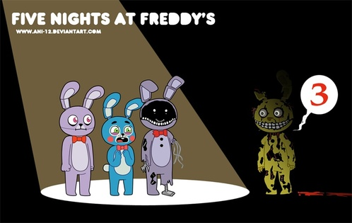 Five Nights At Freddy's 3 !!