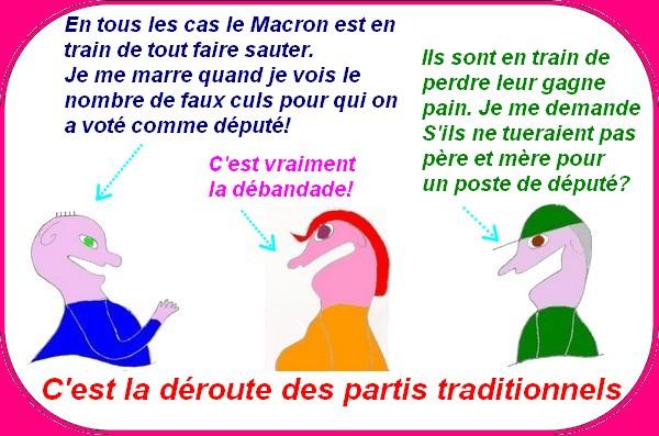 Macron le poulain veut tout casser?