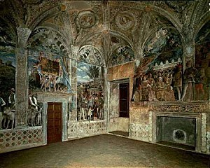 re chambre epouxgonzague mantegna