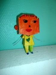 parentalité lomme Paper Toy 5