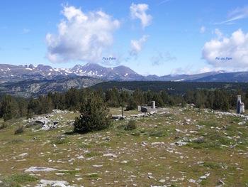 Au sommet du pic dels Moros, vers le Nord