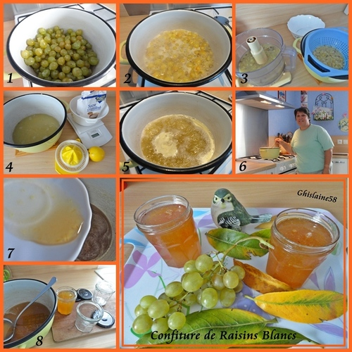 Confiture de Raisins Blancs