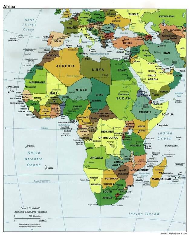 des cartes pour comprendre l'Afrique
