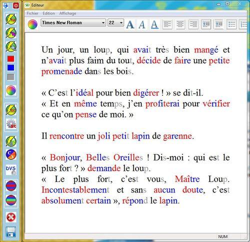 Faciliter l'apprentissage de la lecture avec le logiciel Coupe-mots