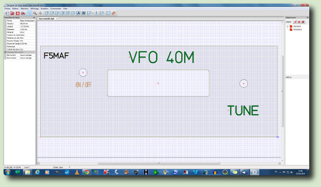VFO 40M F5MAF