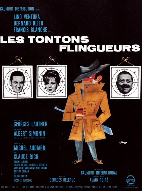 LES TONTONS FLINGUEURS - BOX OFFICE LINO VENTURA 1963