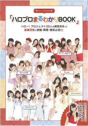 "Cover du ""The 2014 Summer Hello! Project Maruwakari book"""
