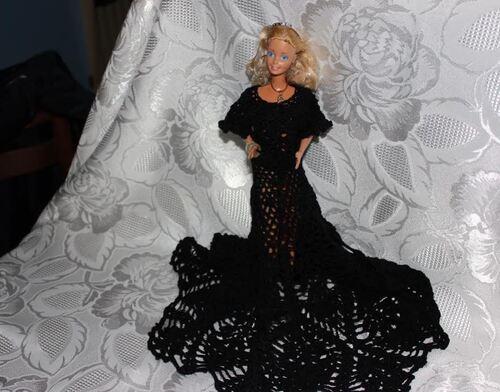 """Barbie:créations / stylistes 2015 """"La petite robe noire ( 11)"""