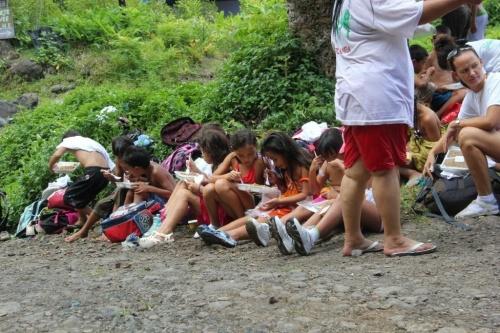 Marche pour ta santé (randonnée dans la vallée de Hotumaru)
