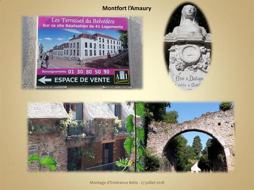 Un matin à Montfort l'Amaury