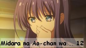 Midara na Ao-chan wa Benkyou ga Dekinai 12 Fin