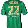 GELSON : Maillot porté SAINT ETIENNE 19.01.2010.