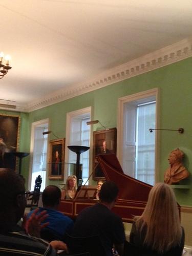 Première exécution de « Prisme ; pour clavecin »