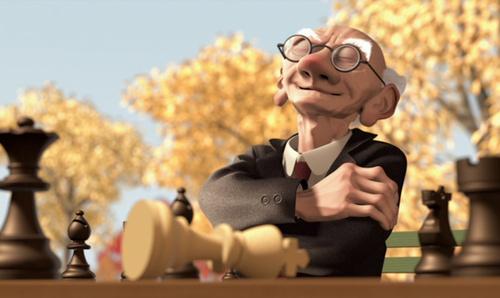 Le jeu de Geri HD – Pixar