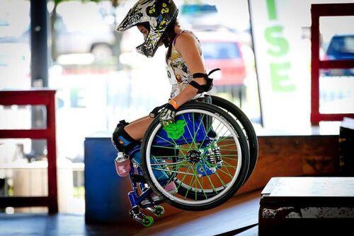 Culture Hollywood, pourquoi veux-tu ma mort ? Lettre ouverte d'une sportive de 11 ans en fauteuil roulant à l'industrie du cinéma américaine. Ella Frech/Aleteia.EN 10 août 2016