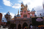 Walking through Disneyland Park