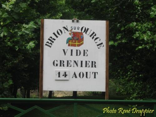 Vide-greniers Châtillonnais, vus par René Drappier...
