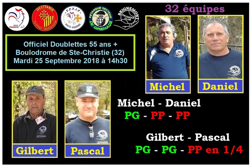 Officiel Doublette 55 ans+ à Ste-Christie -32-