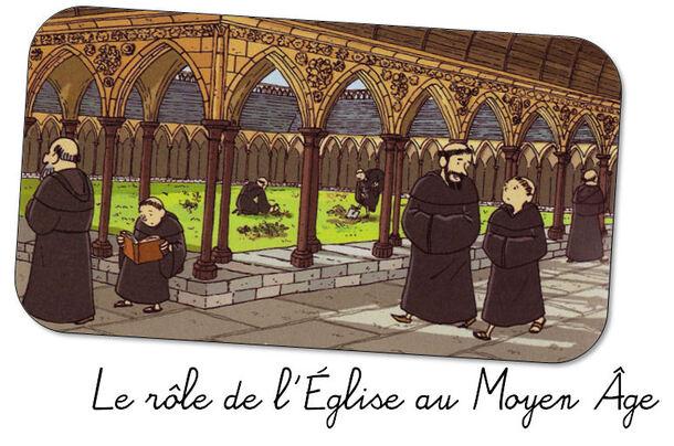 Le rôle de l'Eglise au Moyen Âge