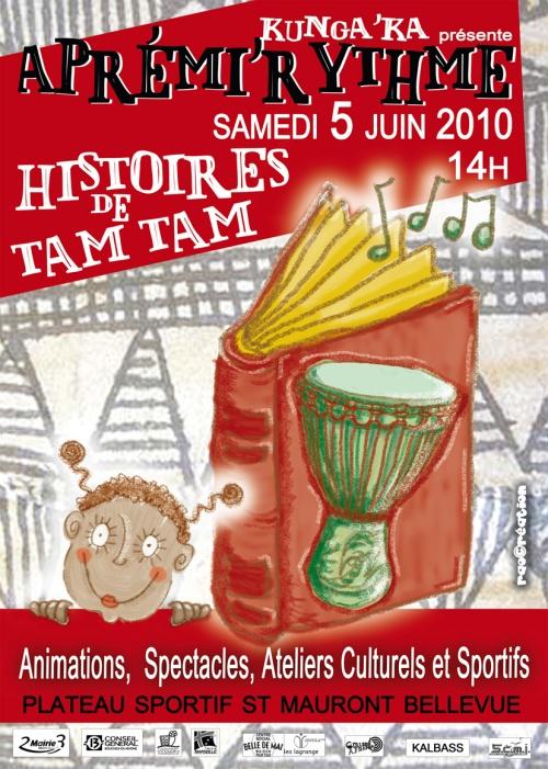 Aprémi'Rythme 2010 - Marseille - Plateau St Mauront