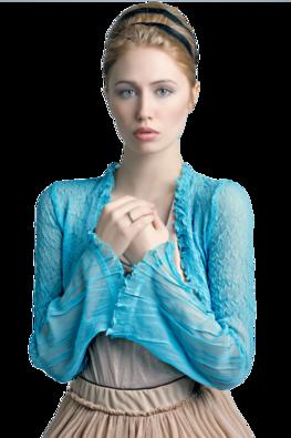 Femmes en bleu