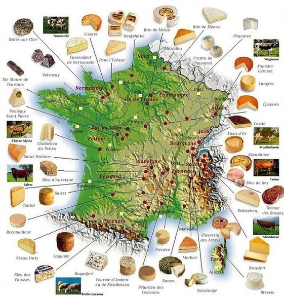 Le Fromage.