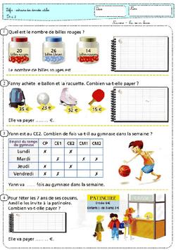 La vie en math en période 4