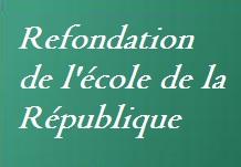 LES JOURNÉES DE LA REFONDATION...DE L'ÉCOLE  1 sur 2