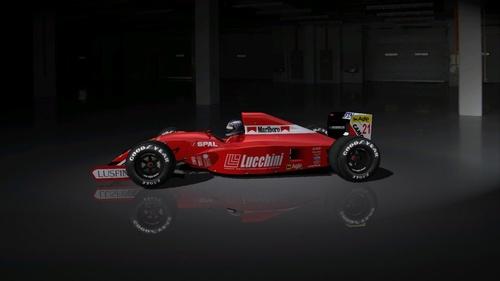 Team : Dallara Ferrari - Ferrari 037 3.5 V12