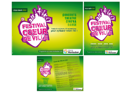 Festival Coeur de ville de Montauban 2012