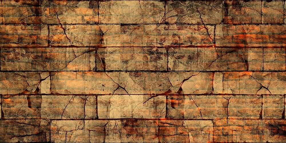 Grandes textures bois/briques, abstrait