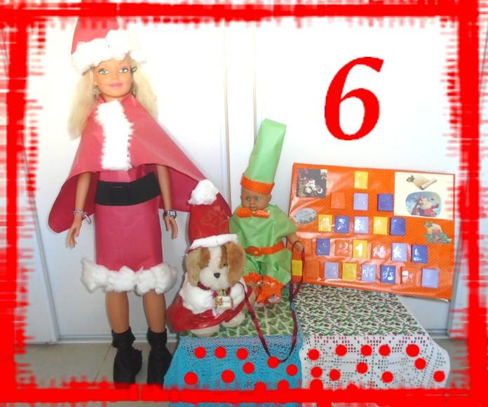 6ème jour passé de l'Avent jusqu'à Noël