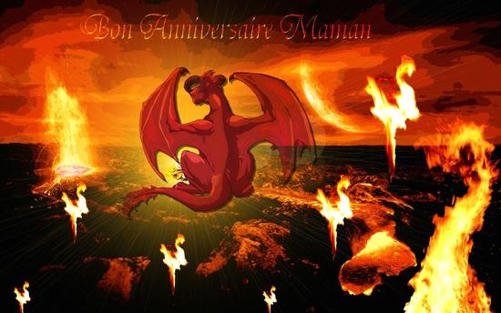 anniv' maman dragon