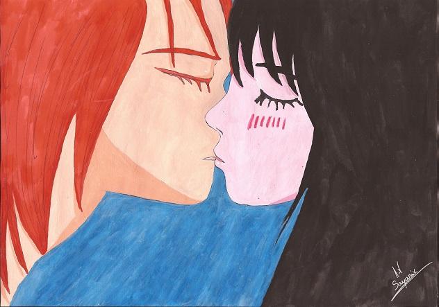 Kiss kiss : les amoureux ^^