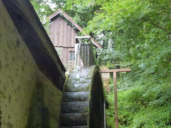 Le moulin à huile de Chanaz en Savoie