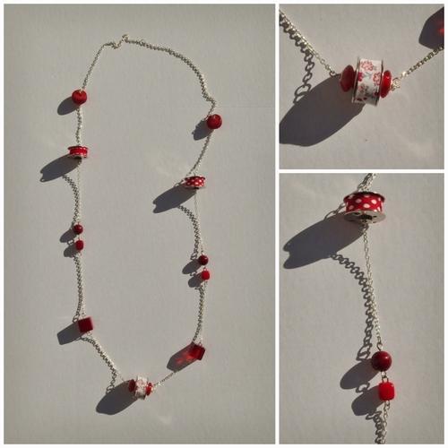3 longs colliers....