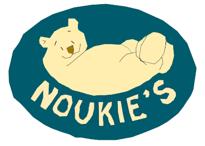 Dessin du logo Noukies