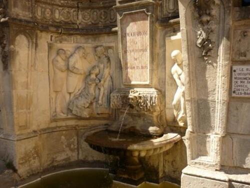 Fontaine de Lamalou les bains