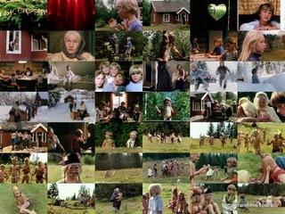 Бабушка и восемь детей в лесу / Mormor og de åtte ungene i skogen. 1979.