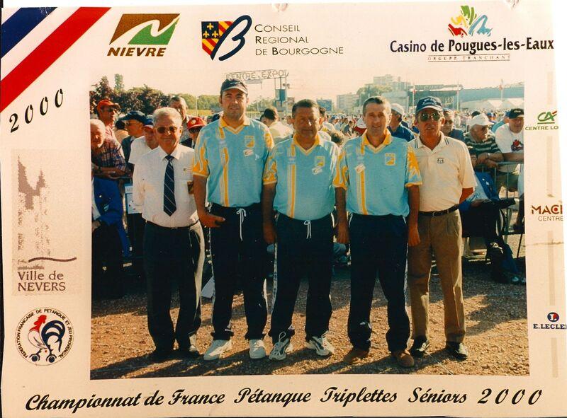 Les qualifiés du 06 de 2000 à 2009