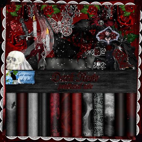 Page ct kit Dark rose