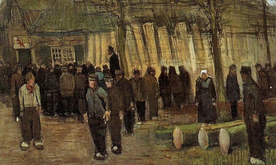 5.Van Gogh / 1883 : , la misère !
