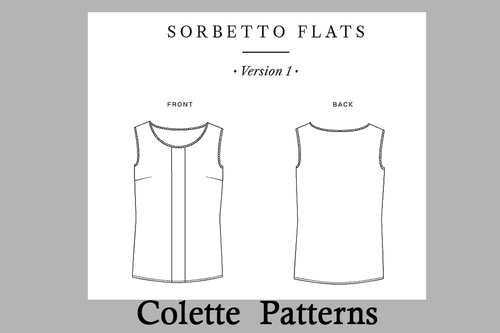 Top Sorbetto de Colette Patterns