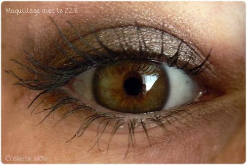 Les Water eyeshadows 218 et 207 de Kiko