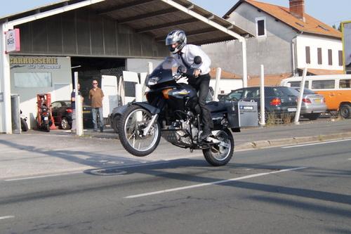 Préparation de la moto et du pilote : )