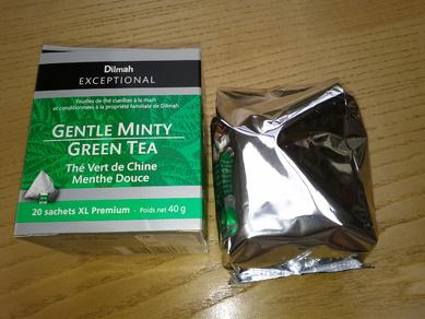 Un thé vert à la menthe signé Dilmah EXCEPTIONAL