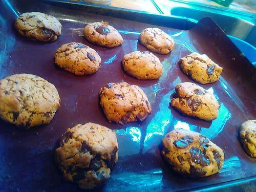 **Noël** cookies chocolat/amande/cacahuète {Vegan}