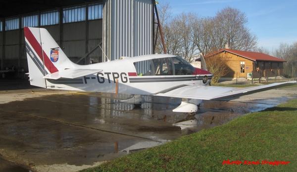Un clin d'œil de René Drappier depuis l'aérodrome de Châtillon sur Seine...