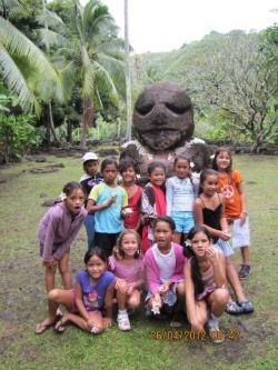 Le tour de l'île de Tahiti